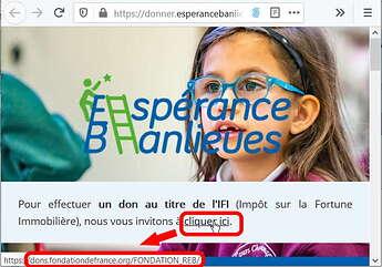 Dons IFI Fondation Réseau Espérance Banlieues